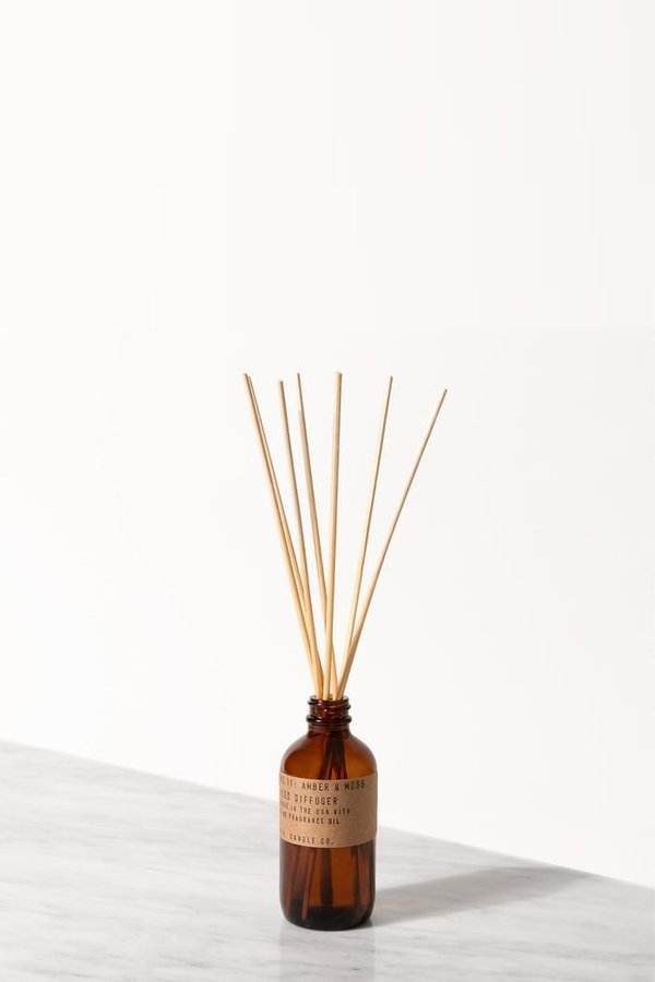 P.F. Candle Co. Amber & Moss Reed Diffuser