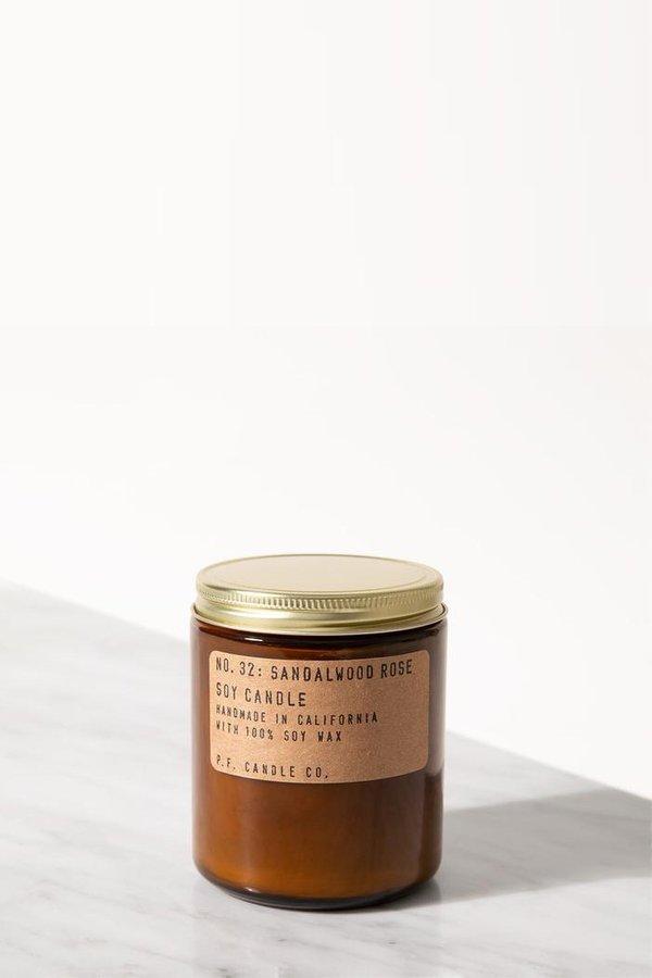 P.F. Candle Co. Sandalwood Rose 7.2 Oz Soy Candle