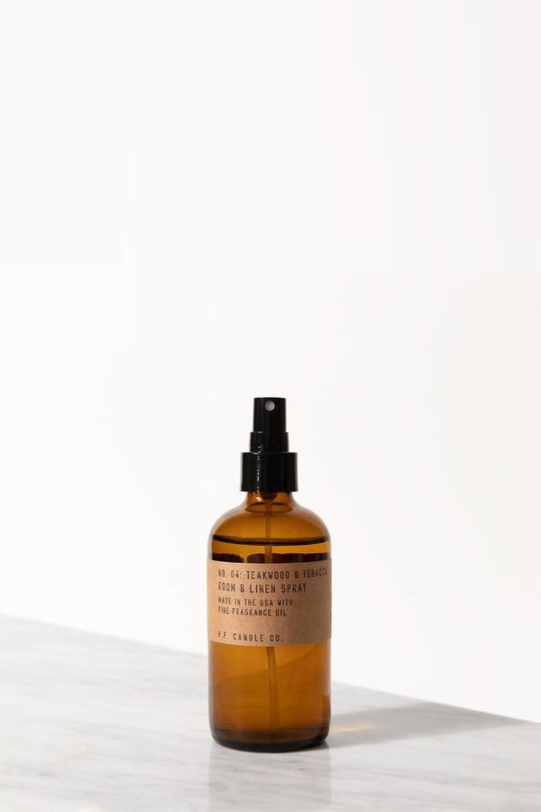 P.F. Candle Co. Teakwood & Tobacco Room & Linen Spray