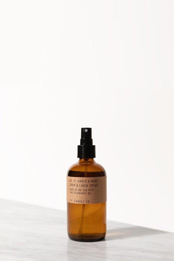 P.F. Candle Co. Amber & Moss Room & Linen Spray