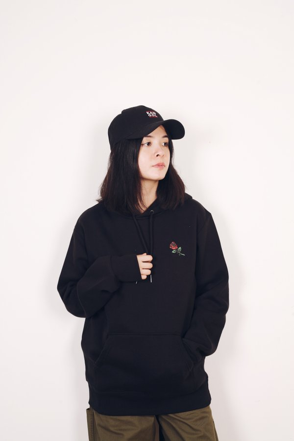 Chinatown Market Thank You Rose Hoodie