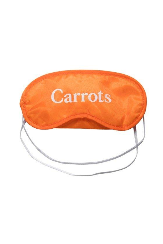 Carrots Wordmark Sleeping Mask