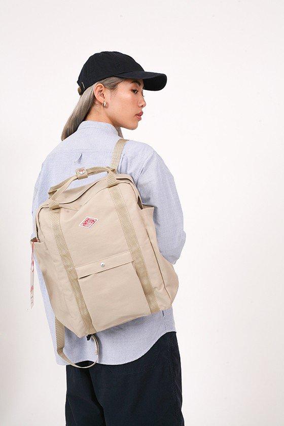 Danton 2 Way Canvas Backpack
