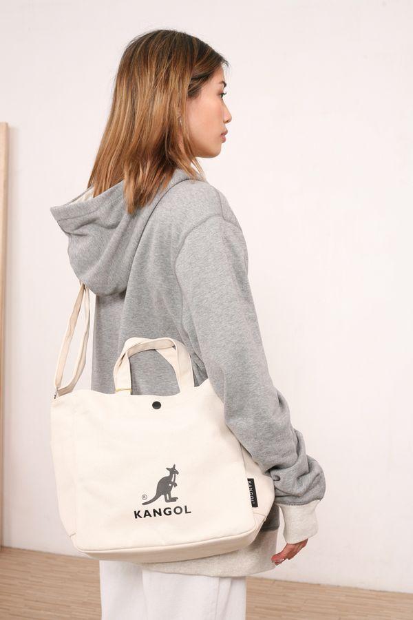 Kangol Canvas Tote Bag Harper Plus
