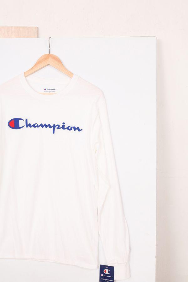 Champion Script L/S Tee