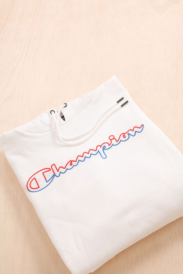 Champion Colour Block Pullover Hoodie