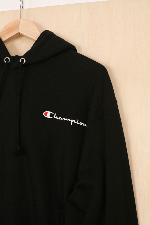 Champion Reverse Weave Small Script Logo Pullover Hoodie