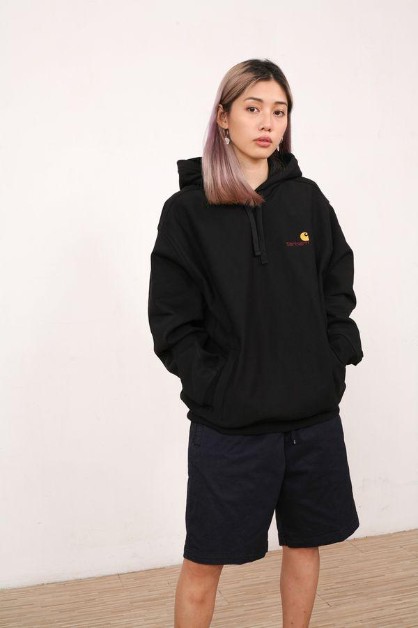 Carhartt WIP Hooded American Script Sweatshirt