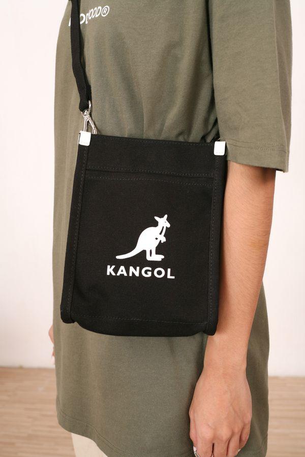 Kangol Hexa Canvas Mini Cross Bag