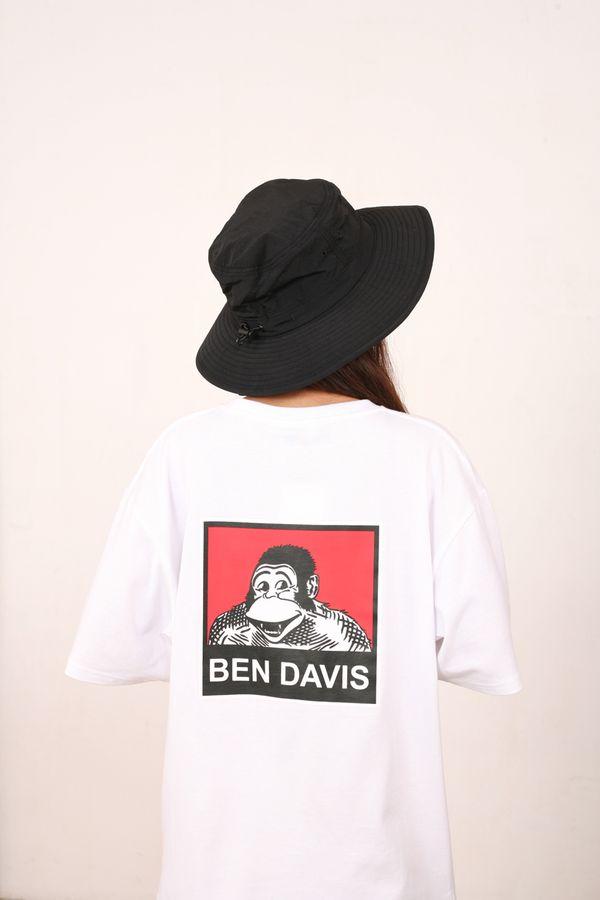 Ben Davis Japan Back Square Print Tee