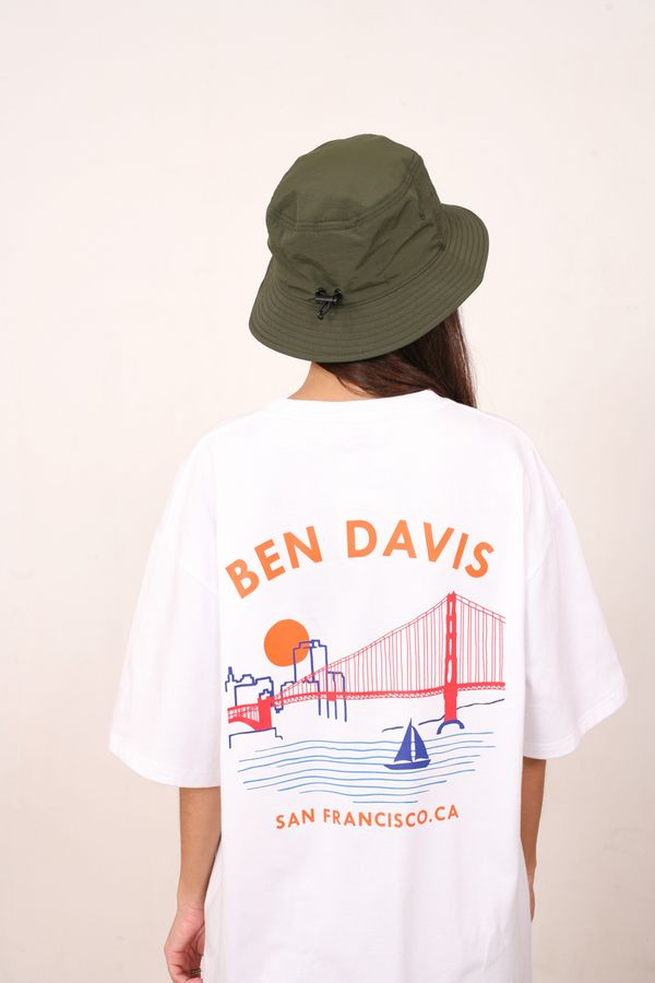 Ben Davis Japan Sunset Bridge Tee