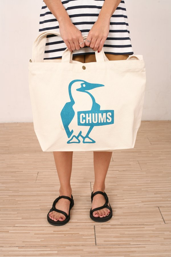 Chums Japan Booby Canvas Shoulder