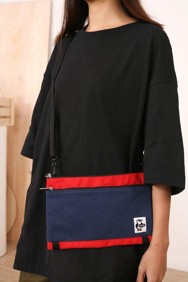Chums Japan Two Necked Shoulder Bag