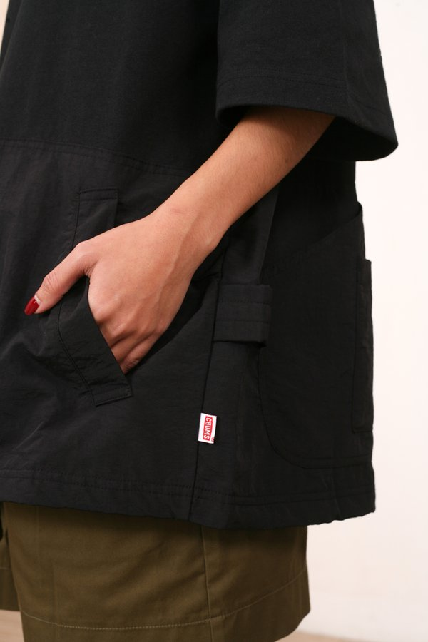 Chums Japan HW Backside Utility Pocket Tee