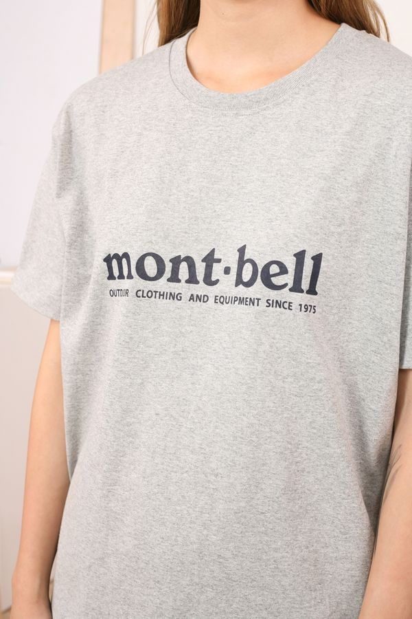 Montbell Pear Skin Cotton Tee Mont-bell
