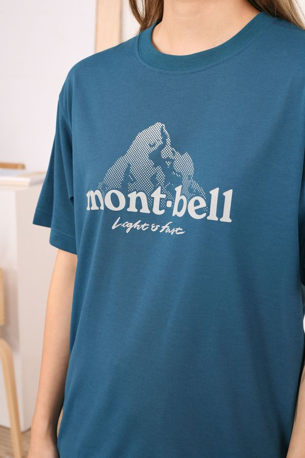 Montbell Wickron Tee Dot Logo
