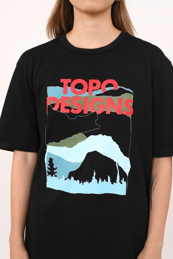 Topo Designs Red Mountain Tee