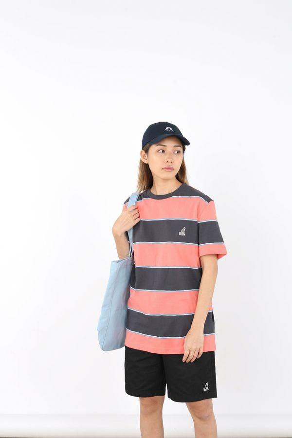 Kangol Tri-Coloured Stripe O/S Tee