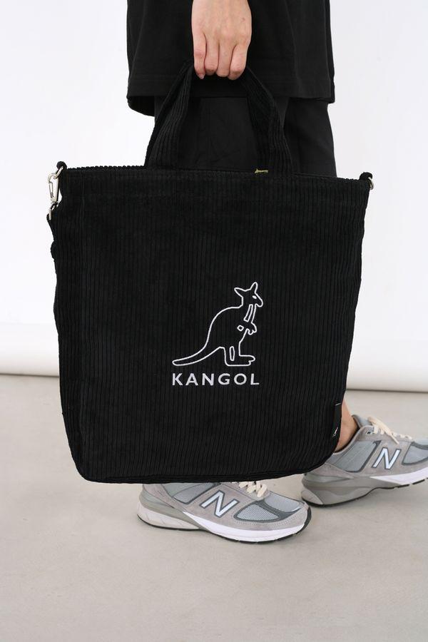 Kangol Cord Big Wale Tote Bag