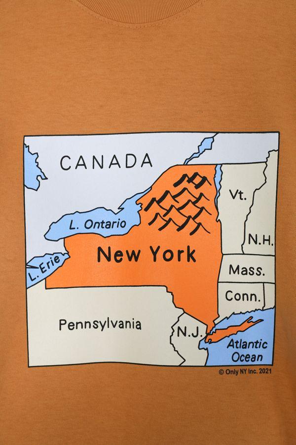 Only NY NY Map Tee