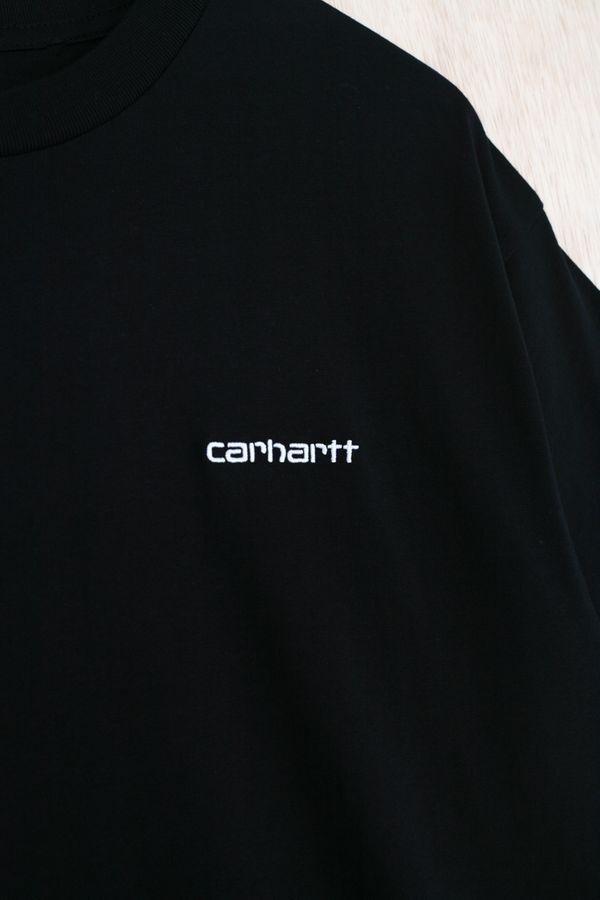 Carhartt WIP S/S Script Embroidery Tee